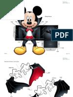 Caixa Mickey Vampiro