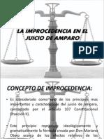 La Improcedencia en El Juicio de Amparo[1]