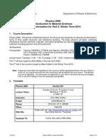 Mat Sci 2 Course Info