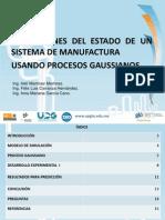 Predicciones Del Estado de Un Sistema de Manufactura Usando Procesos Gaussianos2