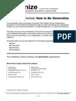 Humanize Worksheet