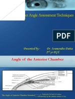 Anterior Chamber Angle Assessment Techniques