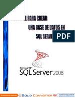 Manual Para Crear Una Base de Datos en SQL Server 2008go_docx