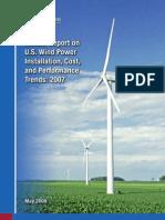 Annual Report on U.S. Wind Power