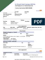 Wisconsin Civil Case 2008CV002368