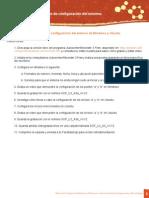 Actividad 3. Procedimiento de configuración del entorno