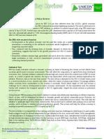 RBI Monetary Policy Sep 2011