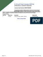 Wisconsin Criminal Case 2009CF000035 Original Charges