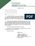 Davao Letter