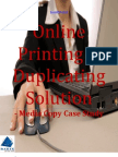 Online Printing & Duplicating Solution-Media Copy Case Study