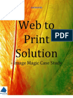 Web to Print Solution-Image Magic Case Study