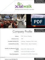 Business Matching for your exhibition Sept 2011