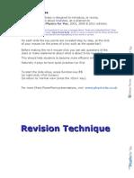 Revision Technique