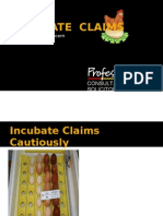 Incubate the Claims