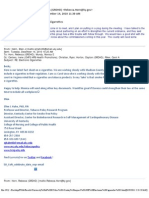 Kentucky Center for Smoke-Free Policy E-Mails Part 3