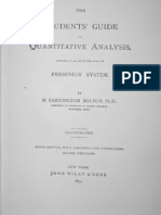 Quantitative Analysis Guide