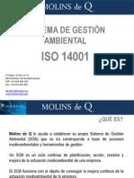 Certificacion e implantacion ISO 14001 consultoria Molins de Q