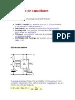 Uso de capacitores