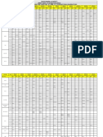 October 2011 Timetable-Overseas