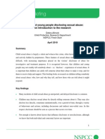 Children Disclosing Sexual Abuse PDF Wdf75964