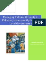 Managing Cultural Diversity in Pakistan