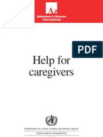 AD,InTERNATIONAL,Help for Caregivers,1996