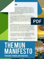 MUNManifesto