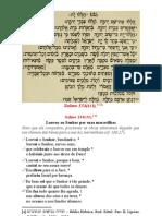 Catequese - Louvai o Senhor Que Faz Maravilhas - Salmo 134, 1-12
