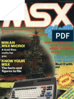 MSX User - Vol 1 No 1 - Dec 1984