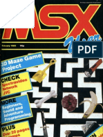 MSX User - Vol 1 No 3 - Feb 1985