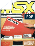 MSX User - Vol 1 No 4 - Mar 1985