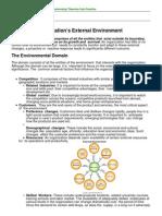 Organizations External Environment
