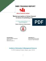 Shree Cement Mar. Report