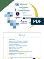 Strahlenfolter - PROBANT - EU Projekt