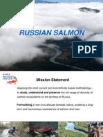 Russian Salmon Fund's presentation
