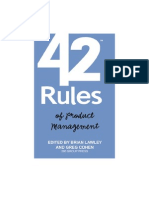 42 Rules of Product Management WP