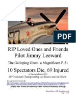 Jimmy Leeward, The Galloping Ghost & 10 Spectators Die, 69 Injured at 2011 48th National Championship Air Races