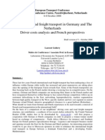 110724 M05 - International Road Freight Transport in Germany