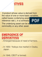 Derivatives In India