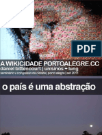 Wikicidade | V Congresso Da Cidade