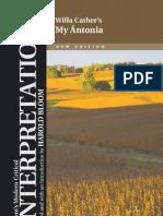 My Antonia - Bloom's Modern Critical Interpretations