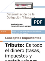 Presentación- Determinación de la Obligación Tributaria