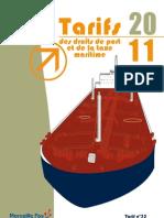 Droits de Port 2011 D-finitifs1