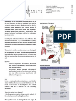 Dyspnea and Hypoxia