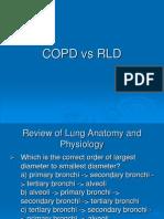 COPD vs RLD