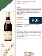 Chassagne-Montrachet rouge 2007 BOUCHARD père & fils