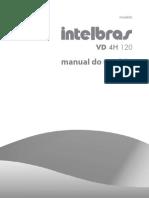 Manual Do Usuario VD 4H 120 Gravador Digital de Video DVR