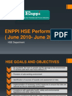 ENPPI HSE Performance (2010-2011) Final