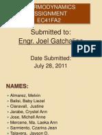 Thermodynamics Assignment Ec41fa2