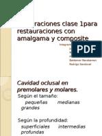 CLASEI Amalgama Composite